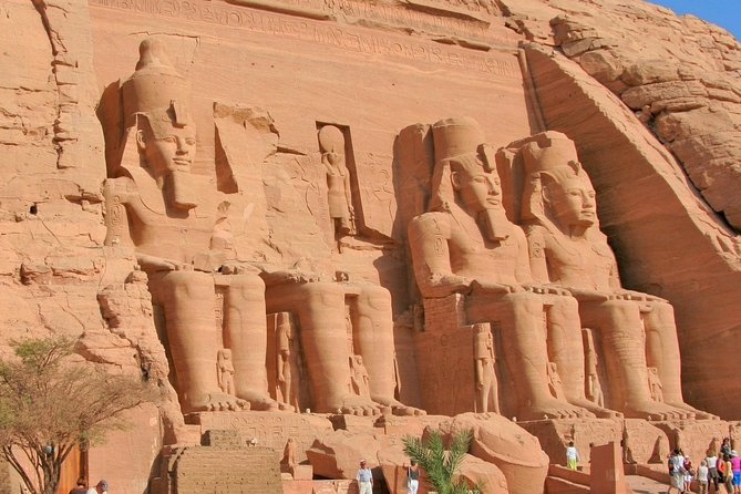 Full Day Tour to Abu Simbel Temples From Aswan With Group