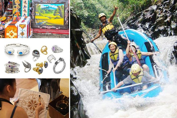 Full-Day Rafting Adventure in Melangit River and Shopping Tour Packages
