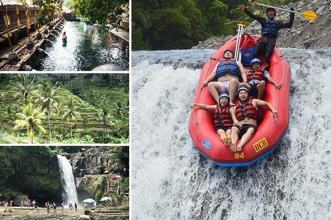 Telaga Waja Rafting and Tirta Empul Temple Tour