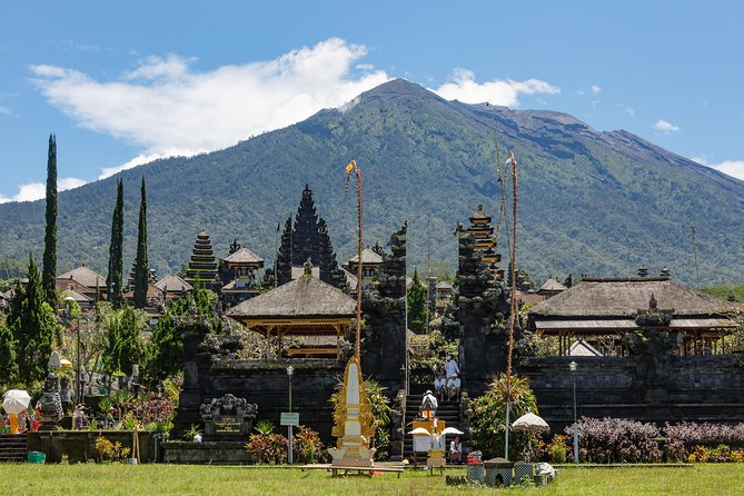Tukad Cepung Waterfall - Penglipuran Village - BESAKIH 'Bali Mother Temple'