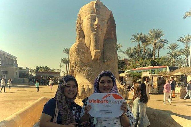 Giza Pyramids, Memphis and Saqqara Tour