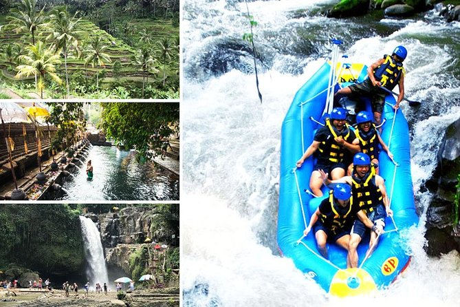 Full-Day Rafting Adventure in Ayung and Tirta Empul and Tegenungan Tour