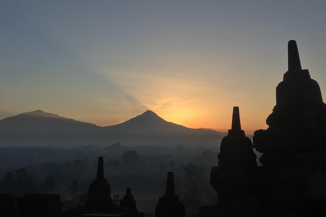Borobudur Temple, Merapi Jeep Lava Tour, and Prambanan Temple