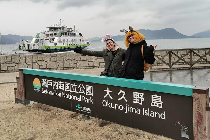 Rabbit Island Private Tour from Hiroshima with Local Guide