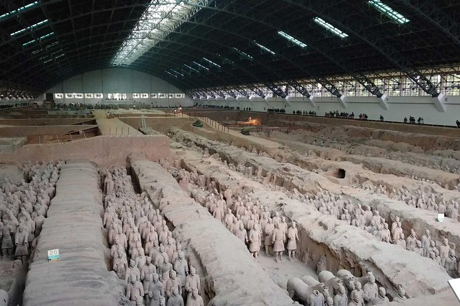 Xian Terracotta Warriors and City Wall Tour with Airport Transfer