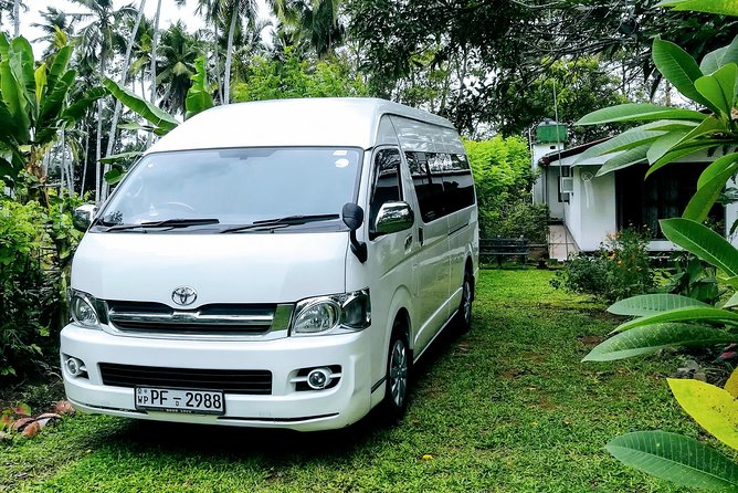 Car Van or MiniBus Rental with Driver per Day