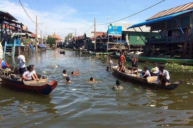 Transfer - Sightseeing Phnom Penh to Siem Reap, English Speaking Driver