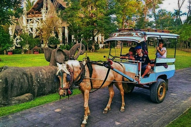 Sunset Horse Cart Ride in Northwest Coast of Lombok