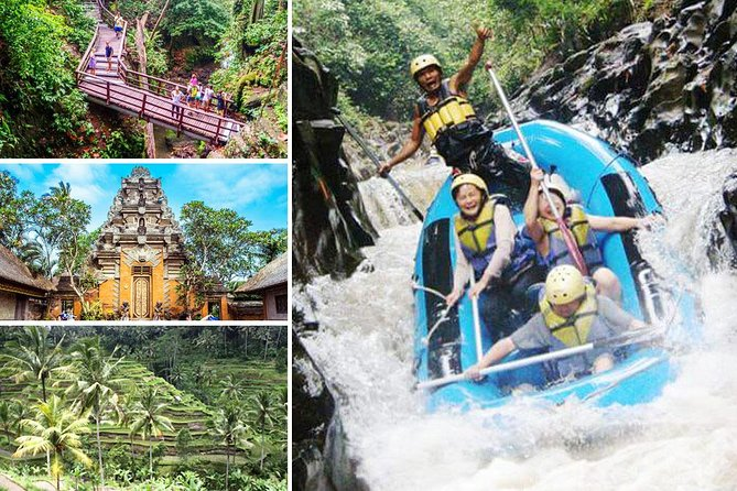 Melangit River Rafting and Ubud Full Day Tour