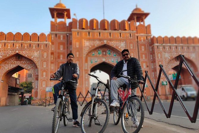 Cycling tour in Pink City