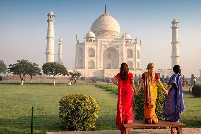 Taj Mahal in Winters