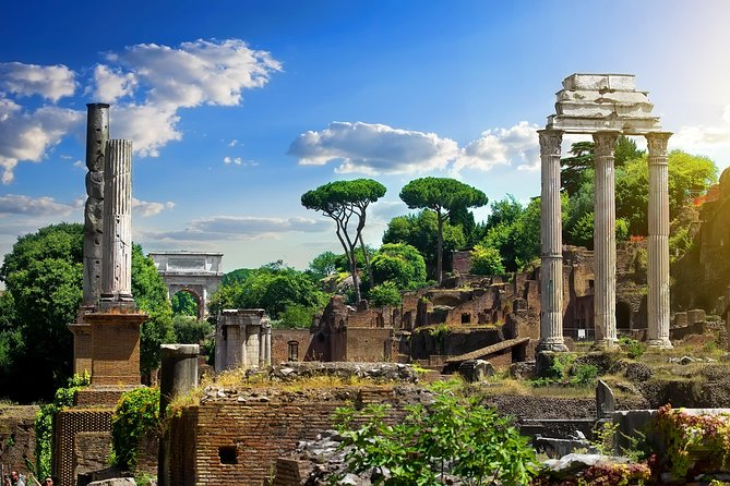 Immersive Roman Forum Audio Tour App