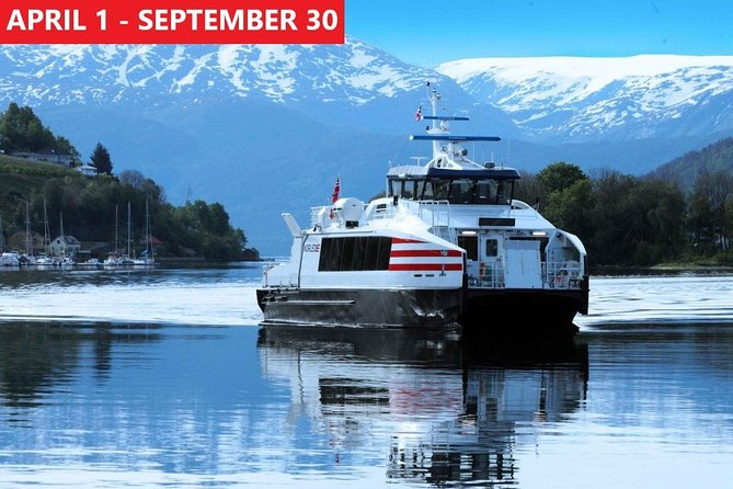 Guided day tour to Flam - incl Sognefjord Cruise and Flam Railway