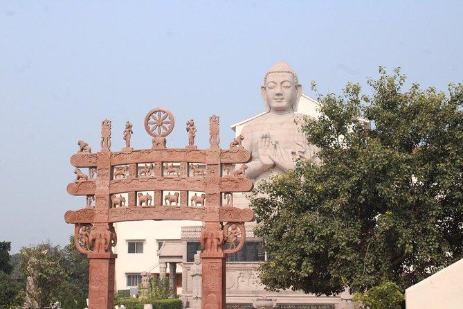 Walking tour of Sarnath, the buddhist site : The Light of Asia Walk