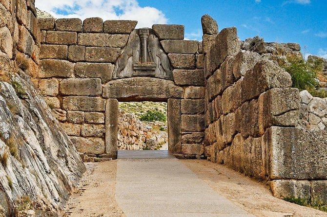 Argolis Full Day Tour from Athens by car/luxury minivan/minibus