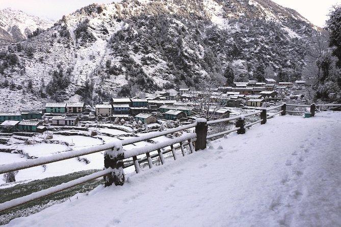 Himalayan village walk to Khati Uttarakhand