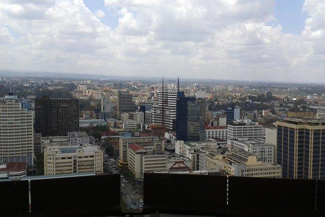 Nairobi City (Downtown) Sightseeing Walk and Safari Walk