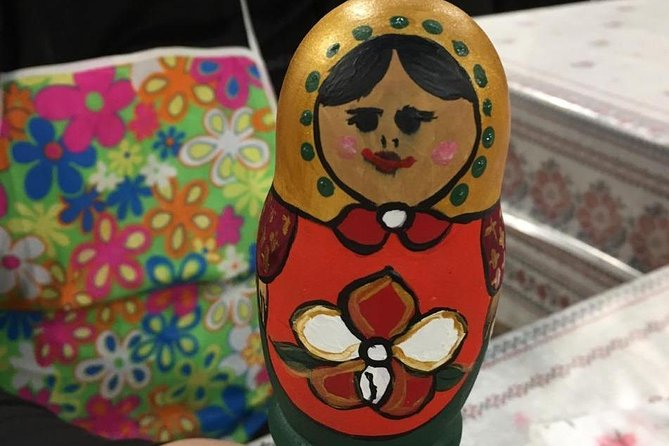 Matryoshka doll painting master class photo 8