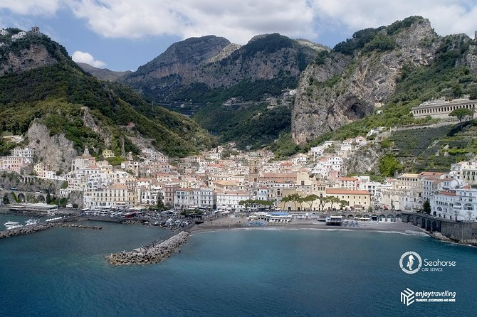 Shared Transfer from Rome Fiumicino airport to Amalfi