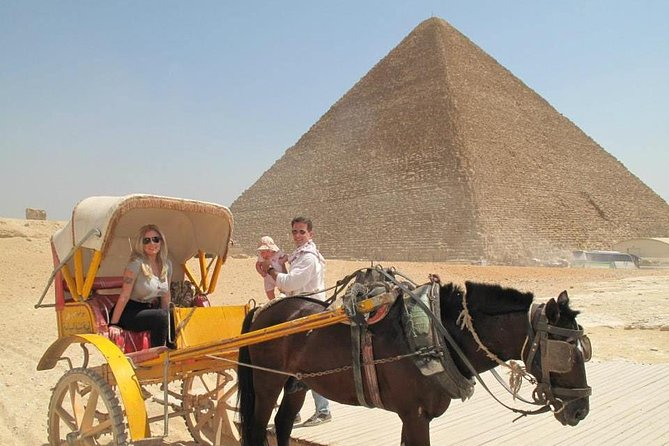 Cairo Day Tour to Giza and Nile Dinner Cruise photo 1