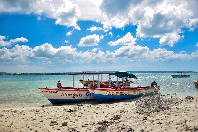 Glass Bottom Boat Ride/Snorkeling/Booby Cay Island from Grand Palladium Lucea
