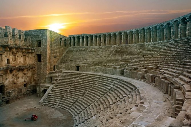 private perge aspendos side waterfall tour 1 to 4 people