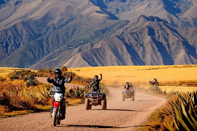 ATV Quadbikes Around Sacred Valley Moray & Maras Salineras
