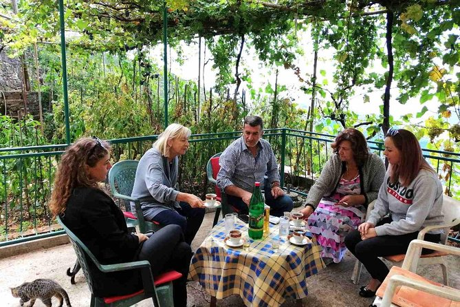 Unique lunch experience with locals in high hills above Budva!