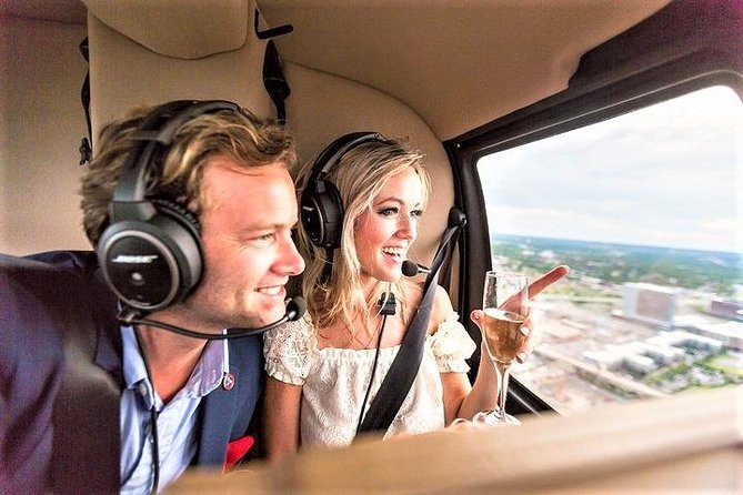 Champagne Helicopter Tour of Downtown Nashville