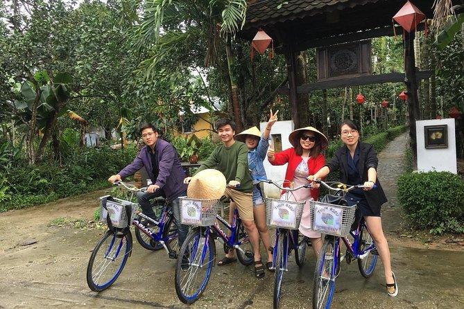 Thuy Bieu Pomelo Garden Cycling & Cooking Class from Hue