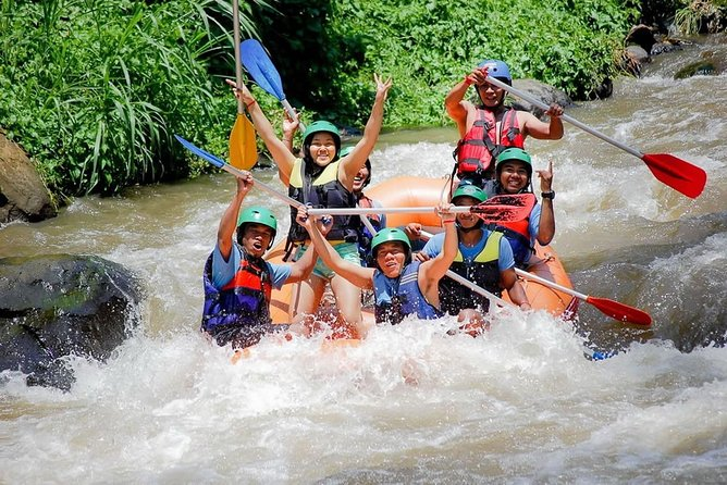 Rafting at New Gangga Rafting (Include Private Transfer)