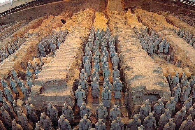 Private Chongqing Bullet Train Trip to Terracotta Warriors (Ends in Xi'an)