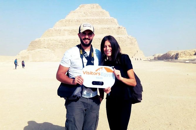 Full-Day Pyramids of Giza and Sakkara Pyramid Private Tour