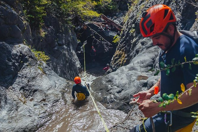 Immerse yourself in a volcanic canyon