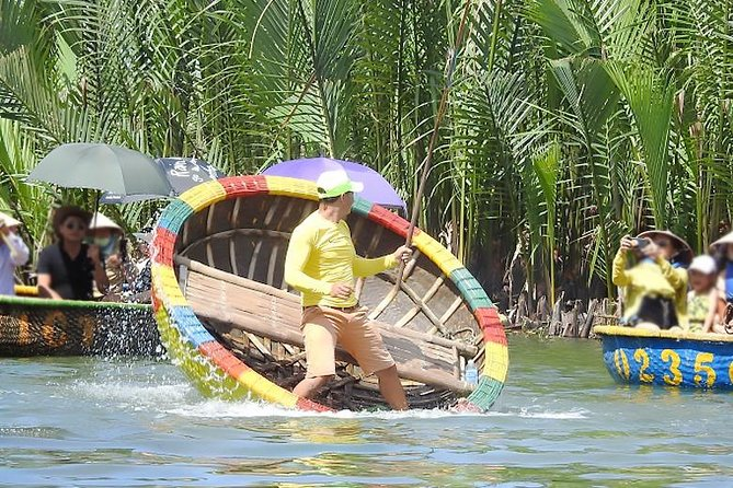 Bay Mau Coconut Forest - Hoi An Join-in Day Tour from Da Nang ( Minimum 2 pax)