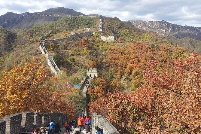 Beijing Ming Tomb and Mutianyu Great Wall Bus Tour