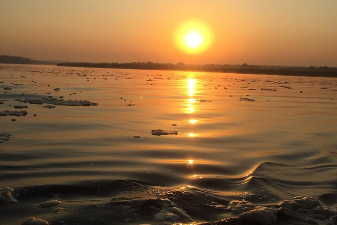 That moment when the sun sets along river Nile