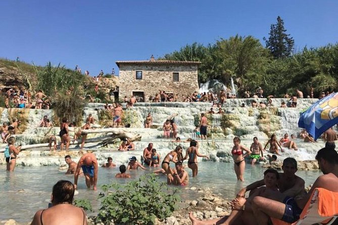 Private Tour to Cascate del Mulino Saturnia Hot Springs from Rome