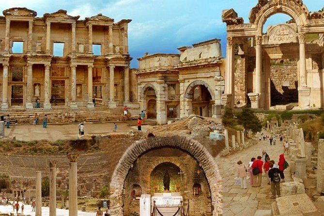 For Cruisers: Ancient Ephesus & House of Virgin Mary Tour From Ephesus Port