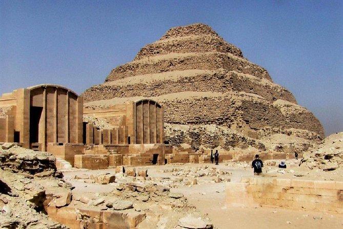Giza Pyramids & Sphinx, Saqqara & Dahshur with Lunch