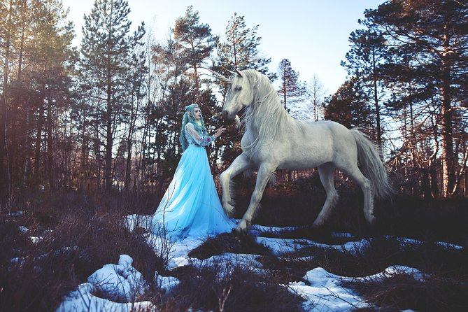 Imaginative photo shoot in the Black Forest