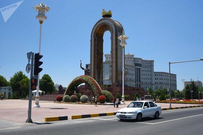 Statue Ismoil Somoni