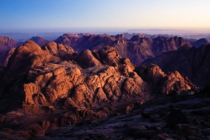 Mount Sinai and St. Catherine Monastery from Sharm el Sheikh