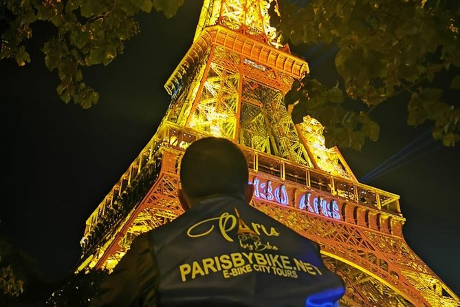 Paris by night Electric bike Tour + Bâteau