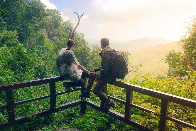 Private Tour: Trekking Kanchanaburi Forest to Tham Than Lod