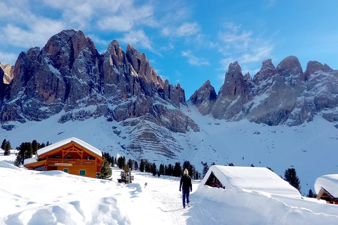 Dolomites Snowshoe Tour - One day private excursion nearby Bolzano