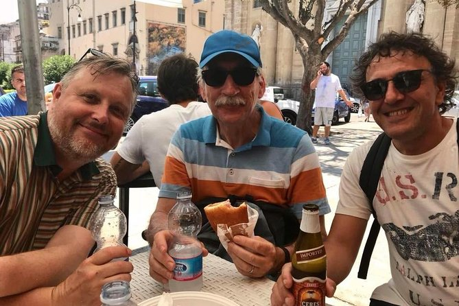 Private Palermo street food tour with Chef Fulvio