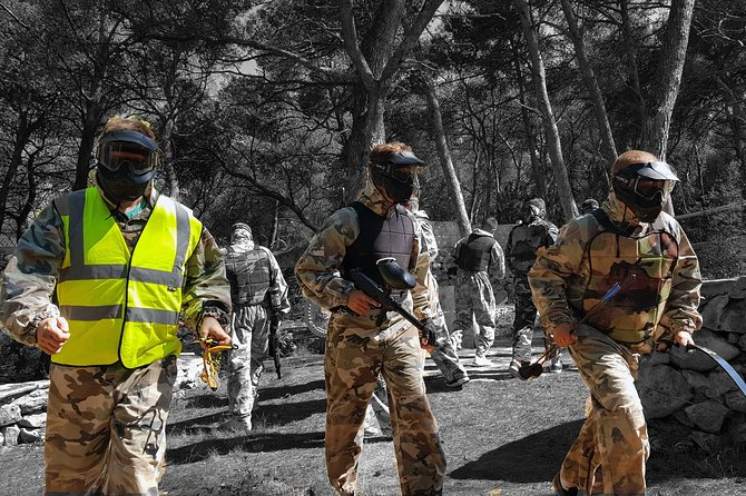 Paintball on Hvar Island
