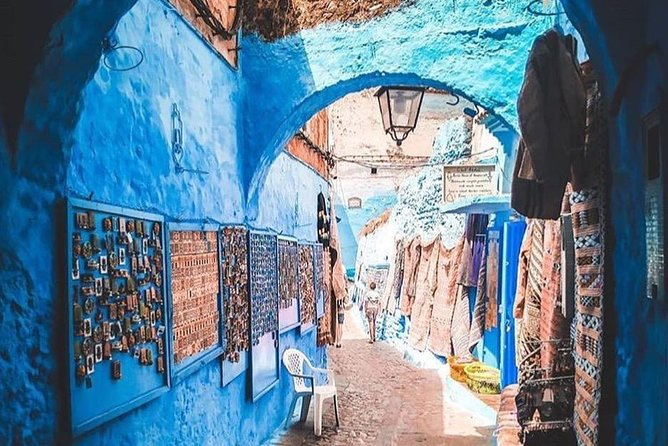 From Tangier: Full day trip to Chefchaouen