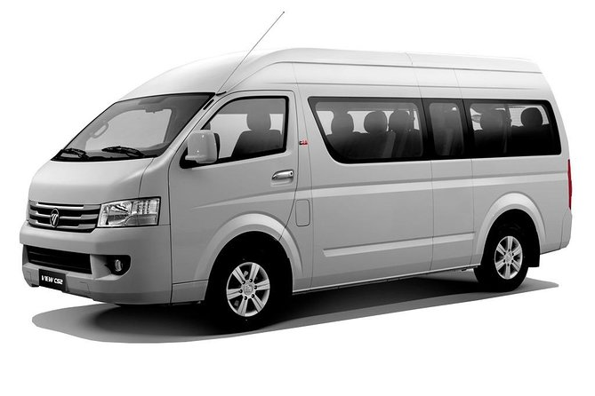 A Private Van with driver to bring around the cities of Metro Manila.